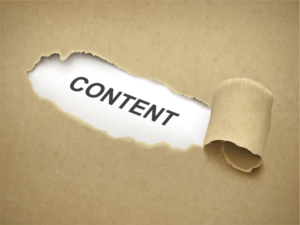 contenu web editorial