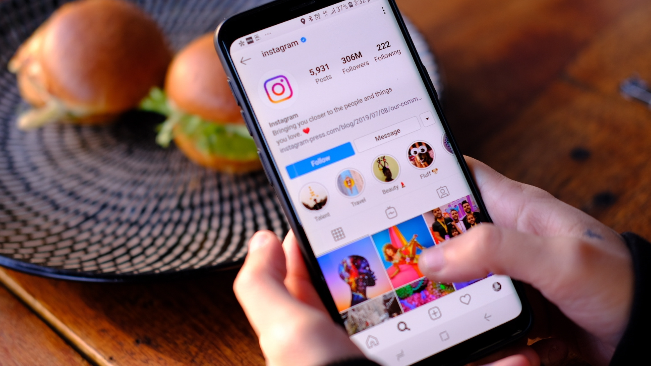 Guide Instagram usage